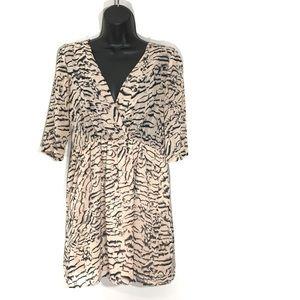 Lovers + Friends Animal Print Mini Dress XS